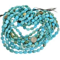 Kingman Turquoise Oval Beads 31930