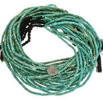Natural Untreated Turquoise Beads 31940