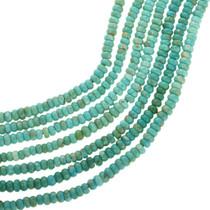 Natural Kingman Green Turquoise Beads 31940