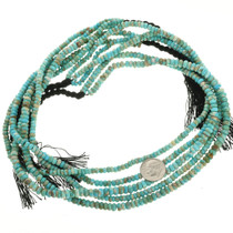 Natural Turquoise Beads Rondelles 31941