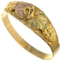 Black Hills Gold Vintage Ring 31872
