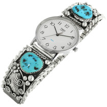 Vintage Turquoise Mens Watch 31884