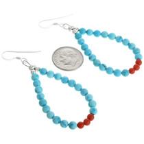 Native American Turquoise Earrings 32022