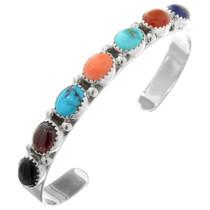 Navajo Multi Gemstone Turquoise Bracelet 32047