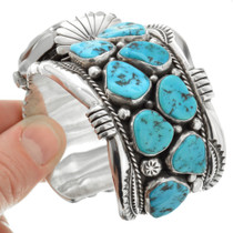 Sleeping Beauty Turquoise Watch Bracelet 32048