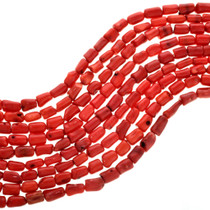 Red Bamboo Coral Beads 31947