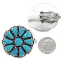Natural Sleeping Beauty Turquoise Earrings 32060