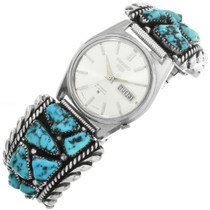 Vintage Morenci Turquoise Watch 32071