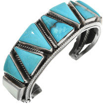 Old Pawn Navajo Turquoise Bracelet 32072