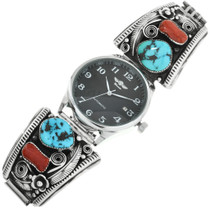 Old Pawn Zuni Native American Watch 32075