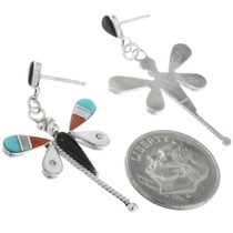 Turquoise Dragonfly Earrings 32081