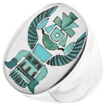 Green Turquoise Zuni Ring 32082