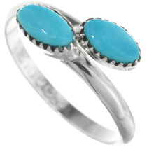 Zuni Turquoise Ladies Ring 32086