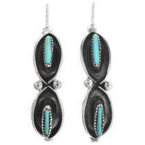 Zuni Turquoise Earrings 32090
