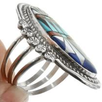 Turquoise Lapis Ring 32091