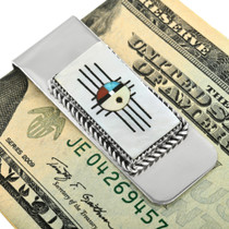 Zuni Turquoise Money Clip 32104