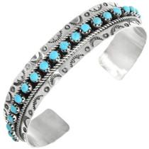 Zuni Turquoise Row Bracelet 32111