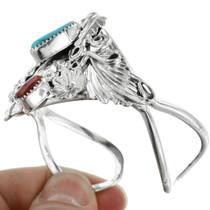 Turquoise Silver Southwestern Bracelet 32117