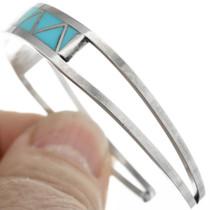Silver Turquoise Western Ladies Bracelet 32118