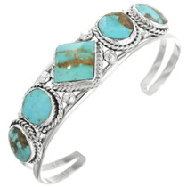 Five Stone Turquoise Bracelet 32127