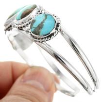 Navajo Turquoise Sterling Silver Bracelet 32127