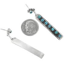 Zuni Turquoise Post Earrings