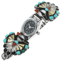 Zuni Inlay Turquoise Watch 32148