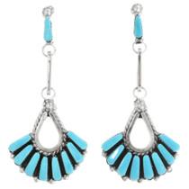 Native American Turquoise Earrings 32150
