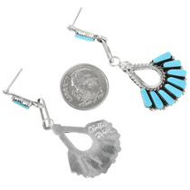 Zuni Turquoise Post Earrings 32150