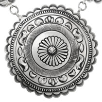 Navajo Sterling Silver Necklace 32189
