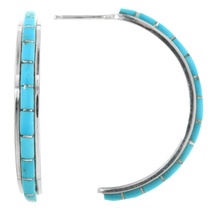 Sterling Silver Turquoise Earrings 32204