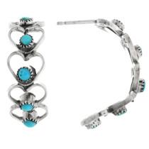 Native American Turquoise Earrings 32209