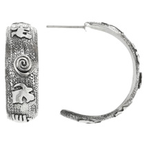 Native American Petroglyph Earrings 32227