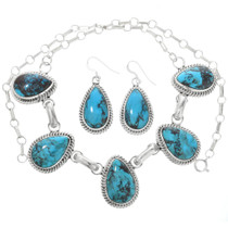 Bisbee Turquoise Necklace 32248