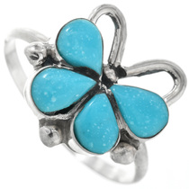 Turquoise Butterfly Ring 32256