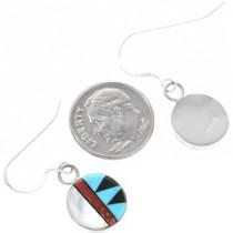 Turquoise Zuni Earrings 32260