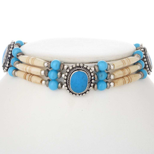 Tribal Choker Necklace 17348