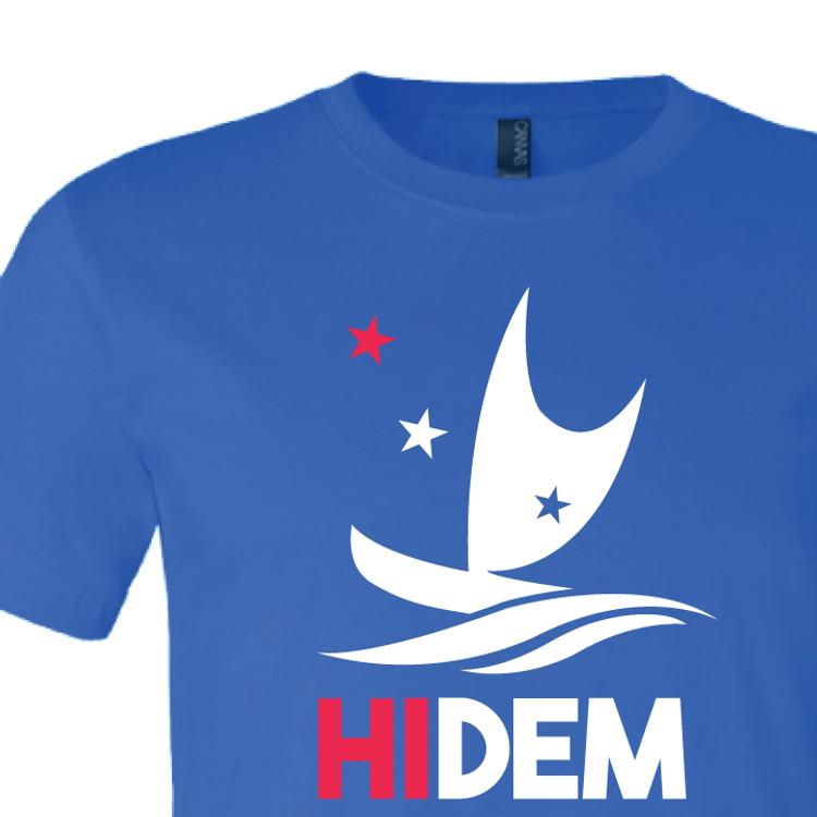 HIDEMS Boat Logo (Royal Blue Tee)