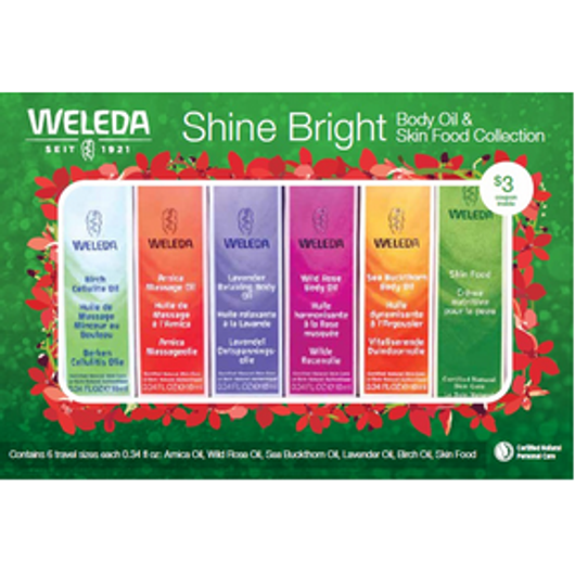 Weleda Body Oil and Skin Food Collection