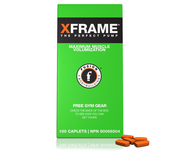 Fusion XFrame 100 Caplets