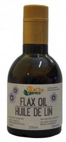 Gold Top Organics Organic Flax Oil 250ml