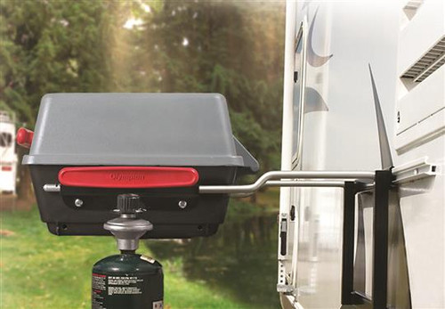 Barbecue Grill Mounting Rail