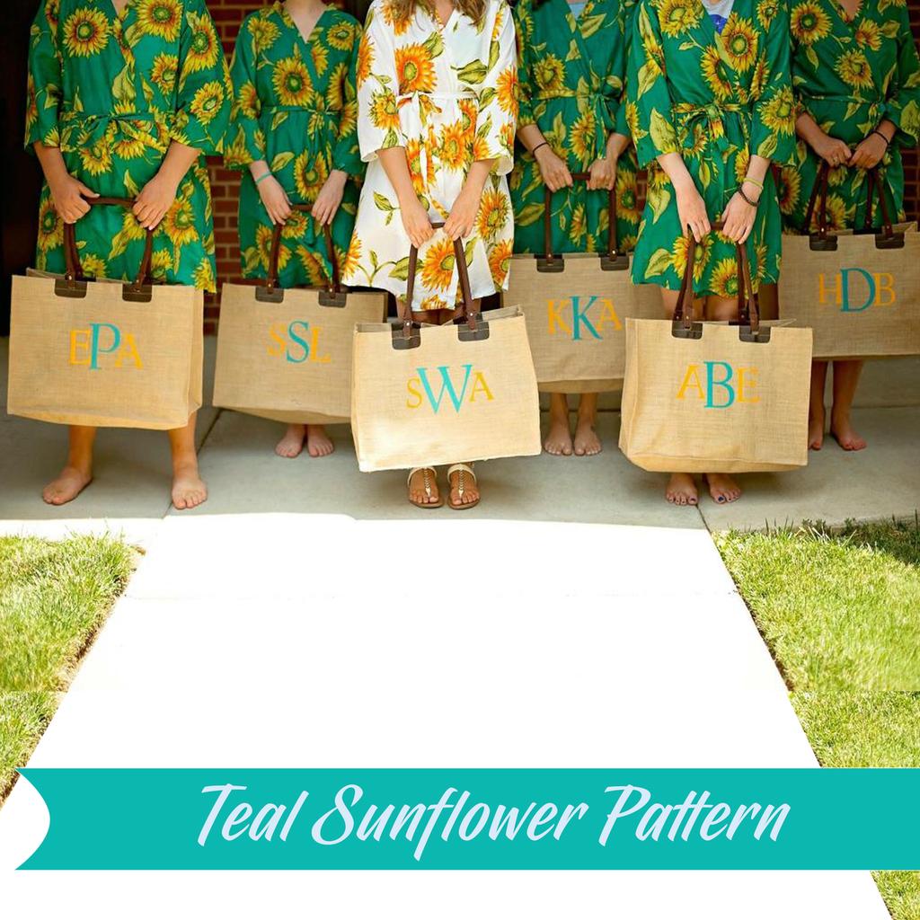 set of 11 bridesmaids robes