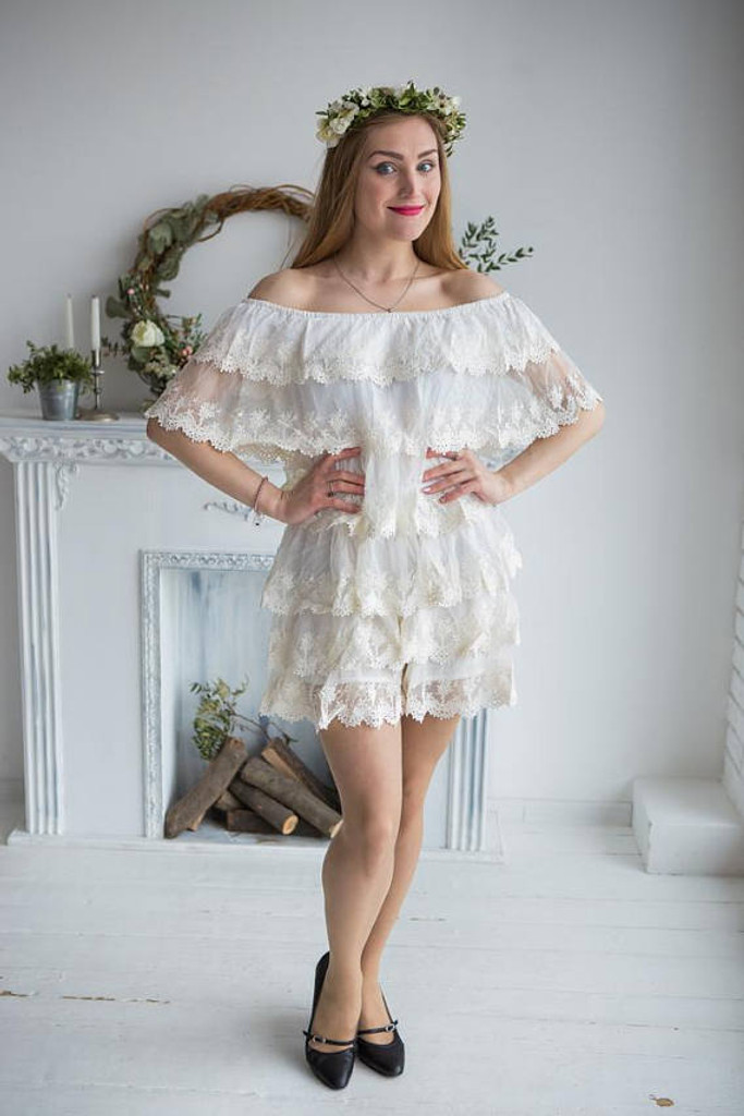 Frilly Rompers