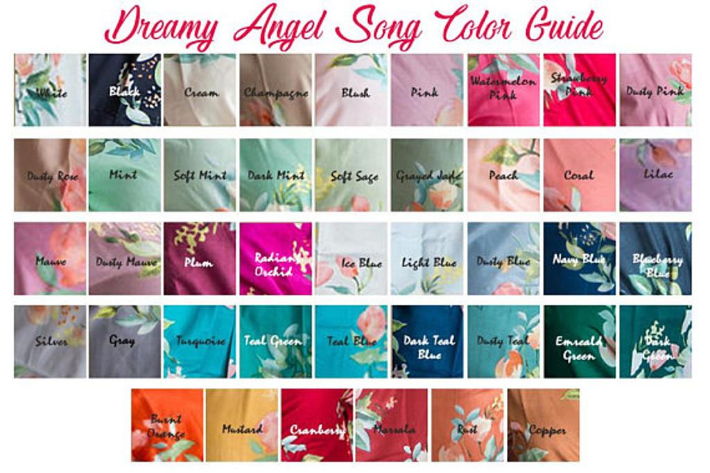 Dreamy Angel Swatch- Silkandmore pj sets