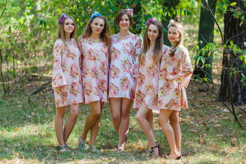 Bella Style Tunic for bridesmaids to get ready in