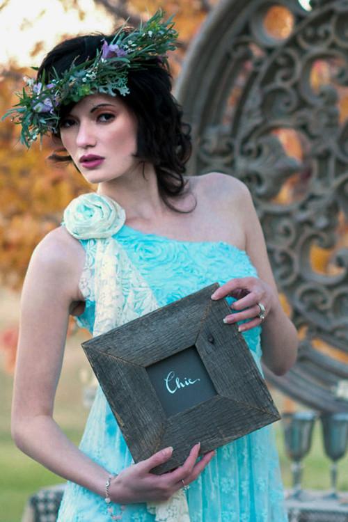 Tantalising Turquoise Blue Lace Dress