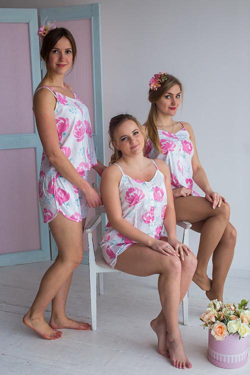 Spaghetti Style PJs in Blushing Flowers Pattern