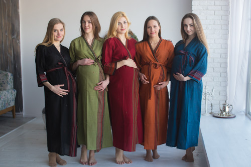 Mommies in Woolen Robes