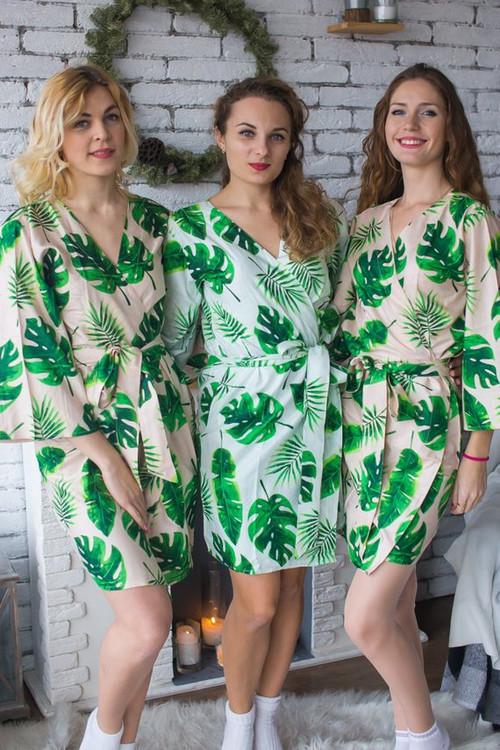 Rayon bridesmaids robes